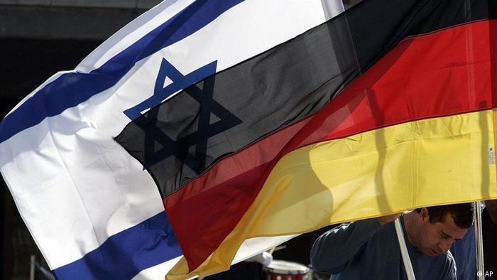 Die Flaggen Israels und Deutschlands (Foto: AP)