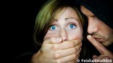 Symbolbild Gewalt gegen Frauen Vergewaltigung