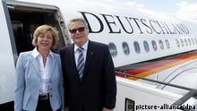 Bundespräsident Joachim Gauck fliegt nach Israel