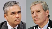 Bildkombo Anshu Jain Jürgen Fitschen Deutsche Bank