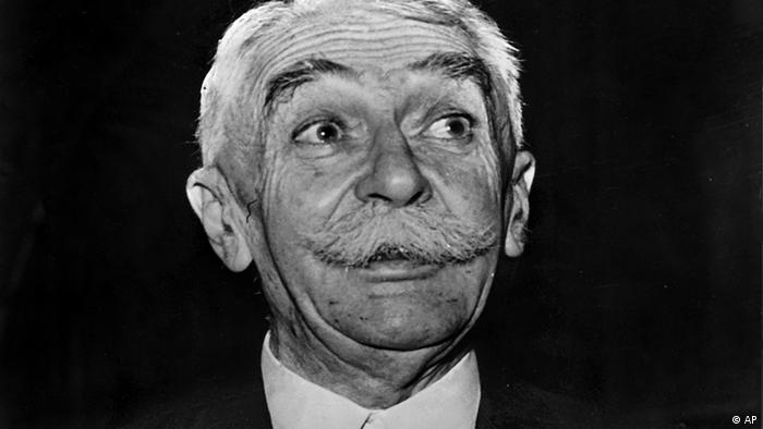 Pierre de Coubertin, Gründer der modernen Olympischen Spiele 1936