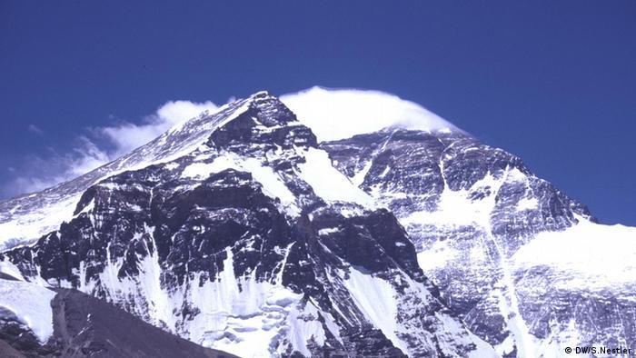 Mount Everest's north side