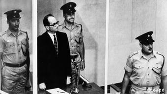 O «αρχιτέκτονας του Ολοκαυτώματος» Άντολφ Άιχμαν στη δίκη του το 1961