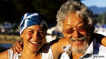 Severn Cullis-Suzuki and David Suzuki.