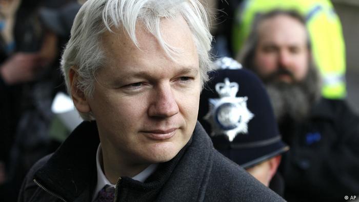 Julian Assange (Foto:Kirsty Wigglesworth, File/AP/dapd)