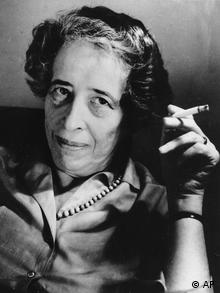 A 1969 photo of Hannah Arendt