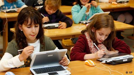 Deutschland Schule Unterricht der Heinz-Galinski-Schule in Berlin