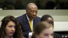 Charles Taylor Urteil Den Haag Sondergerichtshof für Sierra Leone