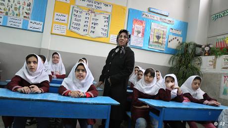 Iran Schule Unterricht der jüdischen Schule in Teheran