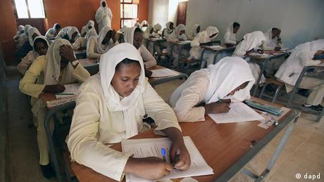 Sudan Schule Unterricht Schulklasse in Karthoum