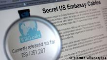 London Entscheidung über Auslieferung Julian Assanges SCREENSHOT