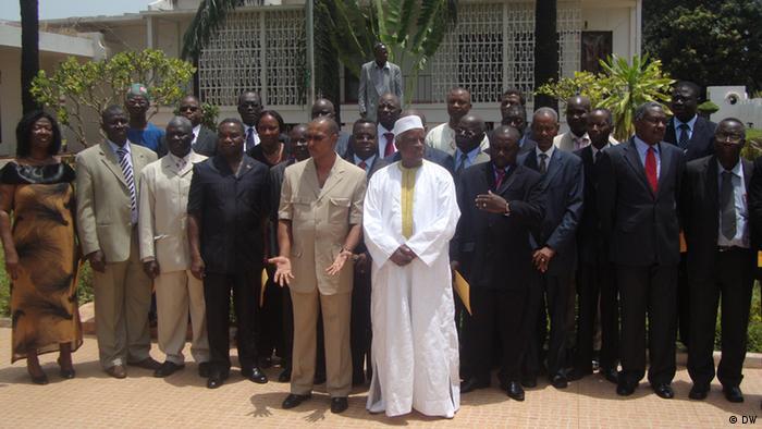 Die neue Regierung von Guinea Bissau. Copyright: DW/Braima Daramé