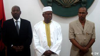 O novo governo guineense: Sorry Djalo, Serifo Nhamadjo und Rui de Barros