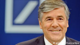 Josef Ackermann Vorsitzender Deutsche Bank Frankfurt am Main