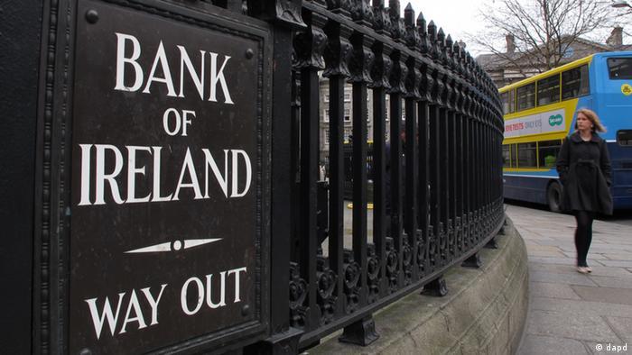 Здание Bank of Ireland