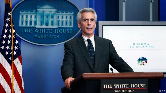 Jared Bernstein, Vice President Joe Biden's Economic Policy Adviser, speaks during the daily briefing, Monday, June 8, 2009, at the White House in Washington.