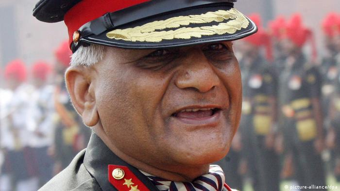 Vijay Kumar Singh Indien Armee General Neu Delhi