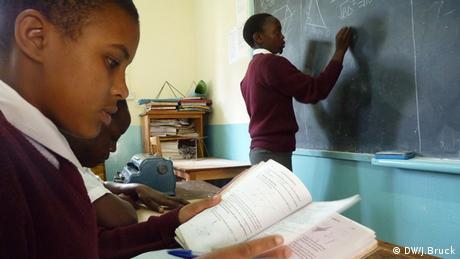 Kenia Kipsigis Girls High School Schüler