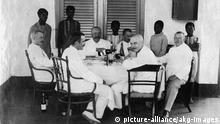 Deutsche Kolonialbeamte in Lome Togo