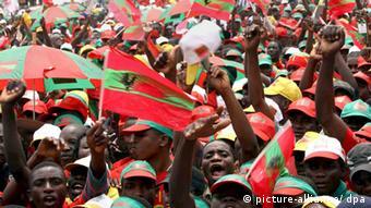 Erste Wahl in Angola seit 16 Jahren UNITA-Anhänger