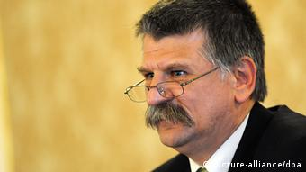 Ungarn Parlamentspräsident Laszlo Köver