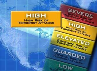 US terror alert system