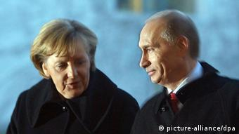 merkel and putin relationship with syria