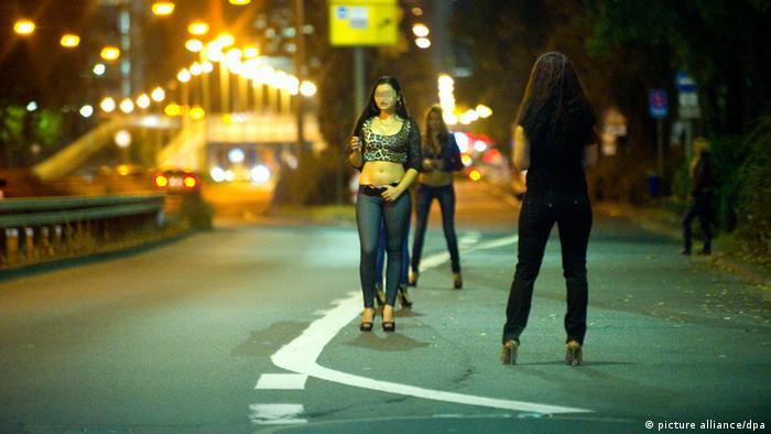 Osteuropäische Prostituierte Ausbeutung von Migranten