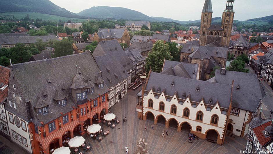 goslar the summer residence of german emperors dw travel dw. Black Bedroom Furniture Sets. Home Design Ideas