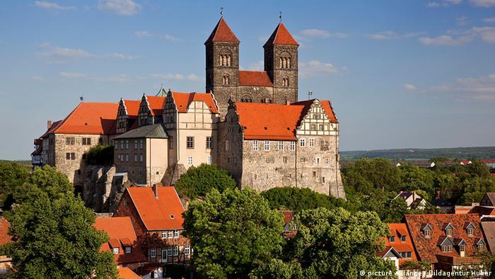 Quedlinburg Schlossberg UNESCO Weltkulturerbe