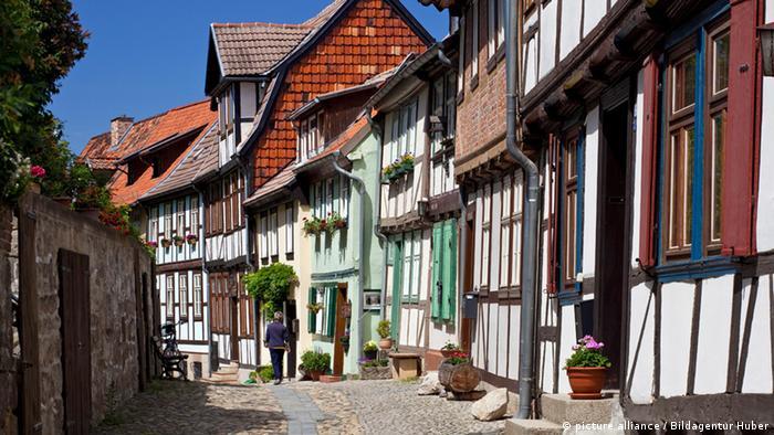 Quedlinburg Altstadt UNESCO Weltkulturerbe (picture alliance / Bildagentur Huber)