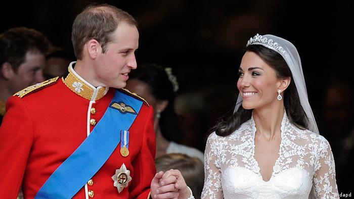 Großbritannien Königshaus Kate und William Hochzeit 29.04.2011 (dapd)