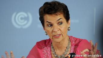 Christiana Figueres (photo: Henning Kaiser dpa/lnw)