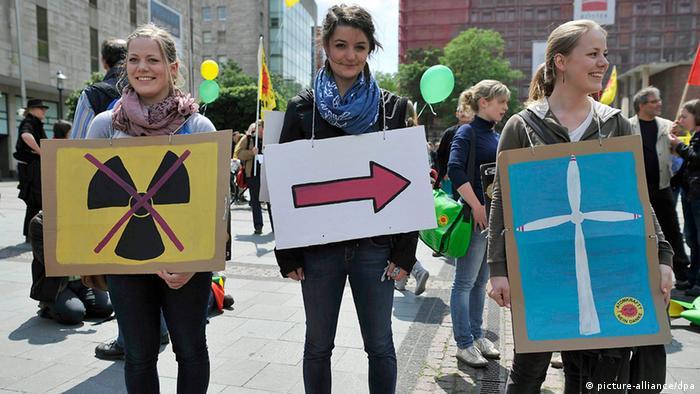 Anti-Atomkraft-Demonstrationen in Deutschland