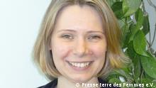 Sibylle Schreiber, Fachreferentin zum Thema Zwangsprostitution/Frauenhandel von Terre des Femmes e.V., Foto: Presse terre des Femmes e.V.