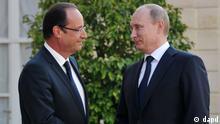 به اعتقاد ناظران، سخنان ولادیمیر پوتین در دیدار با رئیسجمهوری فرانسه نشان داد که موضع روسیه در قبال سوریه تغییر نکرده است