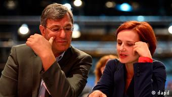 Bernd Riexinger y Katja Kipping, nueva cúpula de La Izquierda.