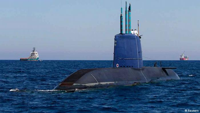 U-Boot Dolphin Klasse / Israel / Deutschland *** Overlay-fähig ***