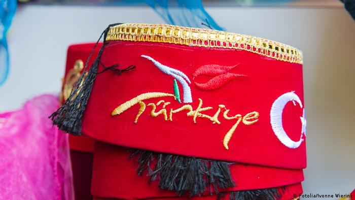 Fes Tarbusch Türkisch Türkei Kopfbedeckung