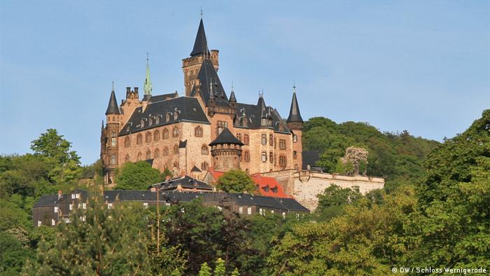 Замок Вернигероде (Burg Wernigerode)