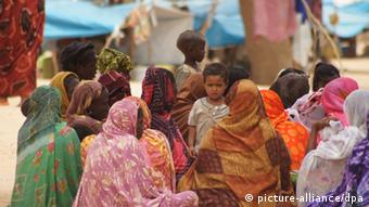 Malian refugees at a refugee camp in Niger. Photo: Carola Frentzen