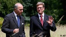وستروله و فابیوس وزیرانخارجه آلمان و فرانسه در برلین: فشار بر اسد افزایش مییابد