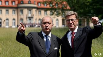 Guido Westerwelle i Laurent Fabius