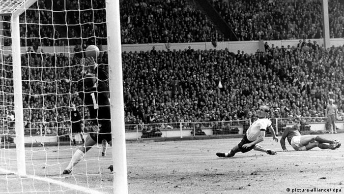 Fußball WM England 1966 Das Wembley Tor
