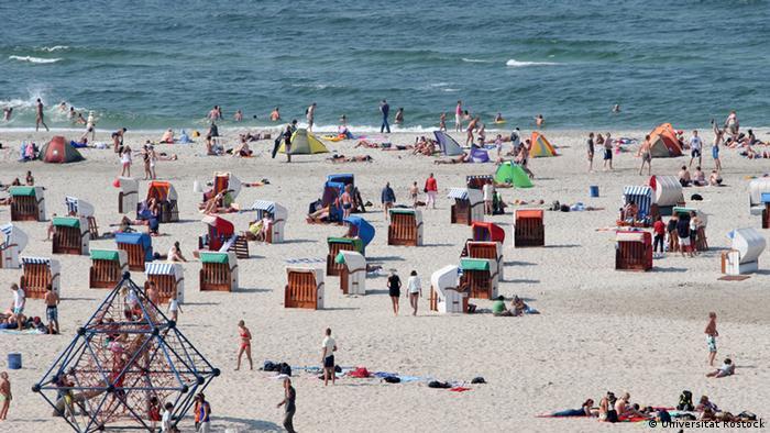 Пляж в Ростоке