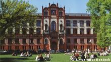 Hauptgebäude der Uni Rostock