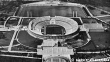 Олимпийский стадион в Берлине, 1936 год