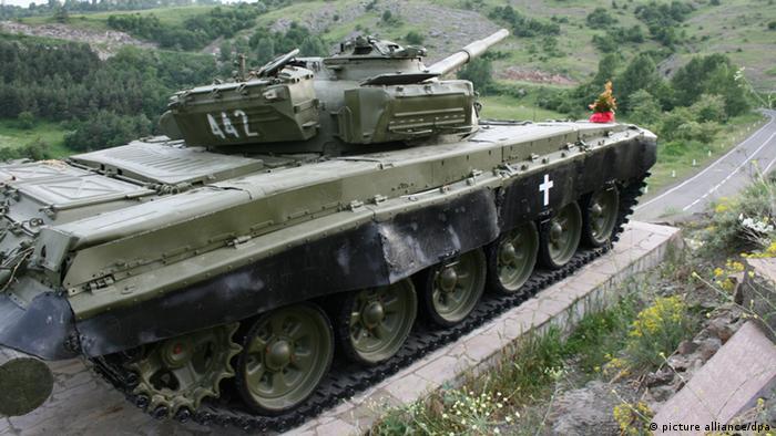 Памятник в Нагорном Карабахе