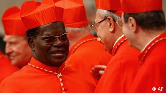 Le Cardinal Laurent Monsengwo demande à Joseph Kabila, le président Congolais de ne pas briguer un troisième mandat.