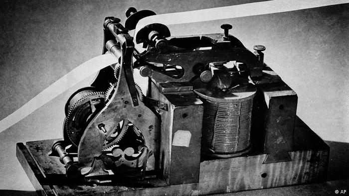 Telegraph von Samuel Morse